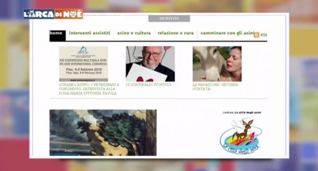 L'ARCA DI NOÈ (CANALE 5) PARLA DI ASINIUS!