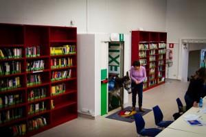Pignatelli Asino in biblioteca