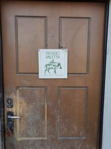 rifugio miletta- porta